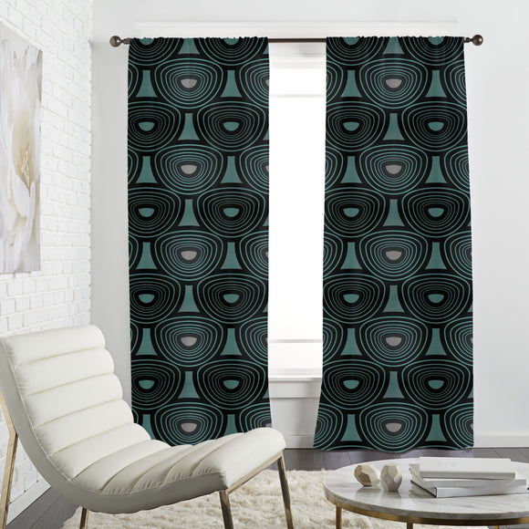 Licorice Curtains