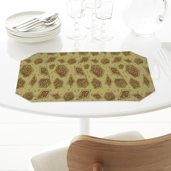 Abstract Mosaic Placemats