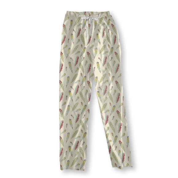 It Is Snowing Feathers Pajama Pants