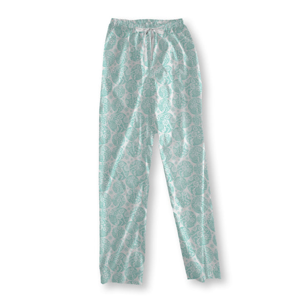 Filigree Winter Circles Pajama Pants