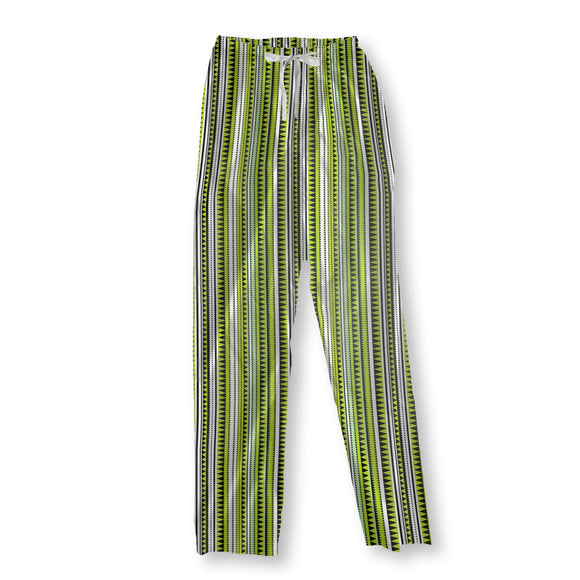 Crocodile Stripes Pajama Pants