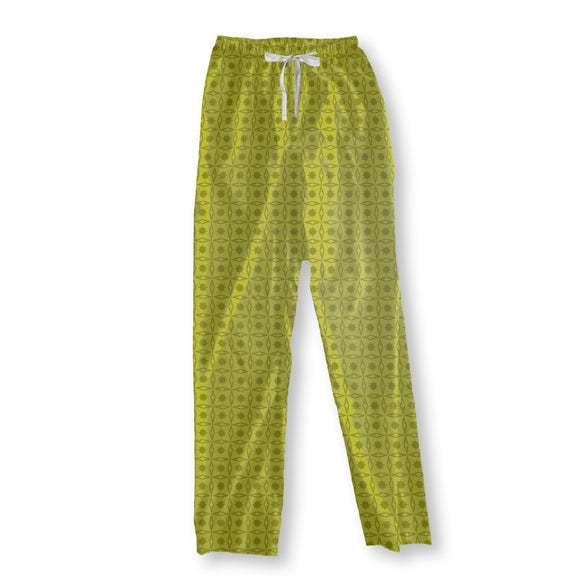 Holly Geometry Pajama Pants