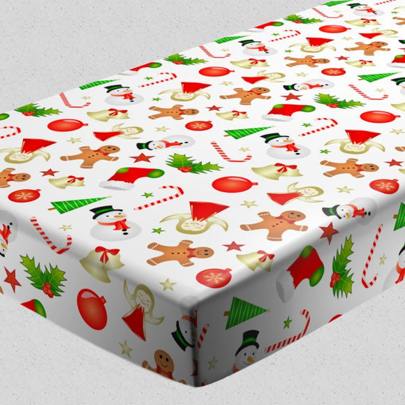 Christmas Minis Fitted Sheets