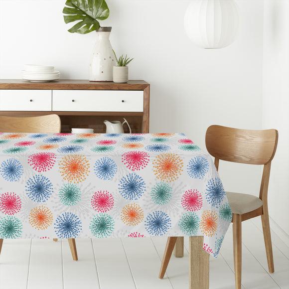 Dandelions To New Years Eve Rectangle Tablecloths