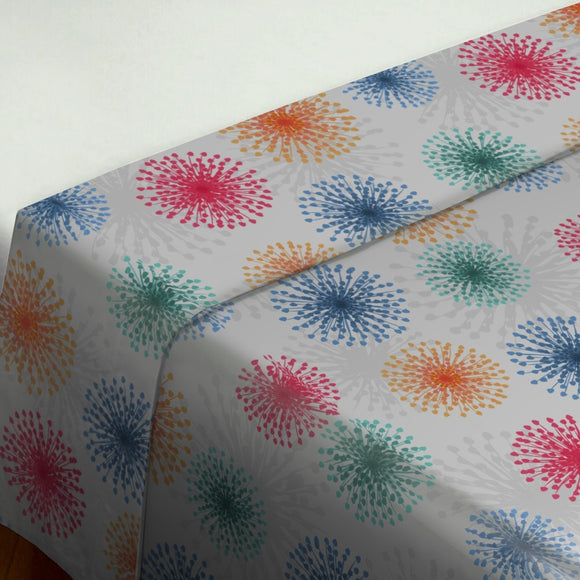 Dandelions To New Years Eve Flat Sheets