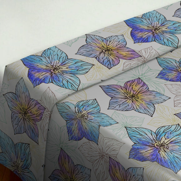 Watercolor Hibiscus Flat Sheets