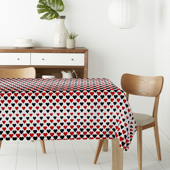 Heart Queens Rectangle Tablecloths