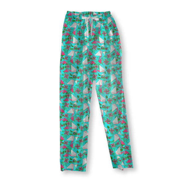 Origami Birds In Paradise Pajama Pants