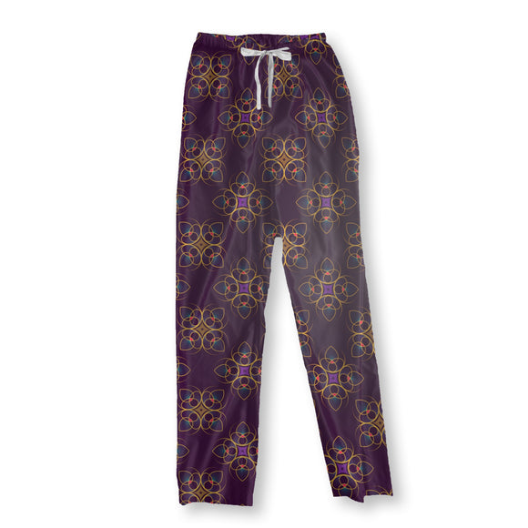 We See Floral Signs Pajama Pants