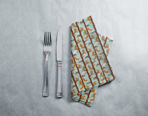 Squirrel Party Napkins