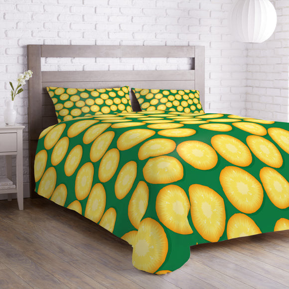 Fresh Pineapples Duvet