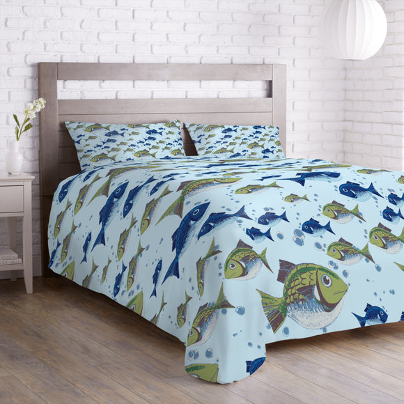 The North Sea Fish Duvet