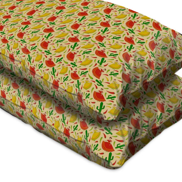 Senorita Chili Pillow Case