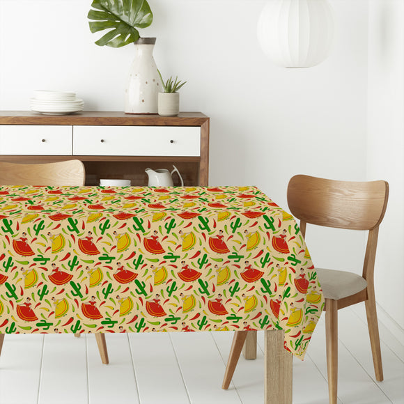Senorita Chili Rectangle Tablecloths