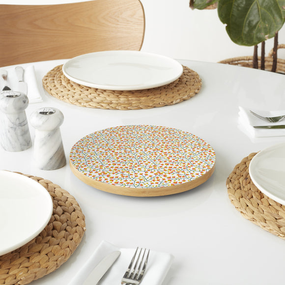Nordic Summer Bloom Lazy Susan