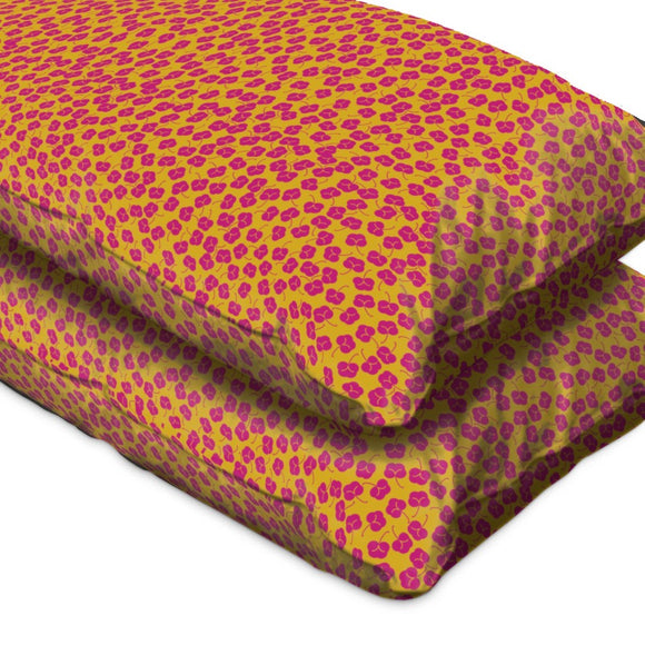 Plum Bloom Pillow Case