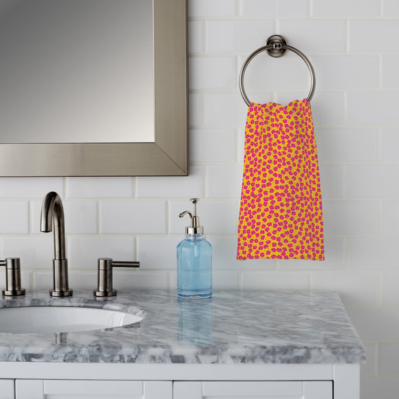 Plum Bloom Hand Towel