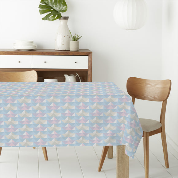 Paper Folding Regatta Rectangle Tablecloths