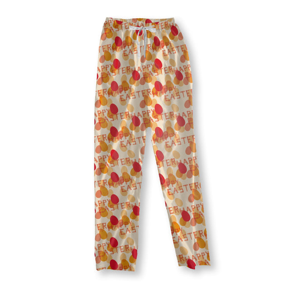 Happy Easter Red Pajama Pants