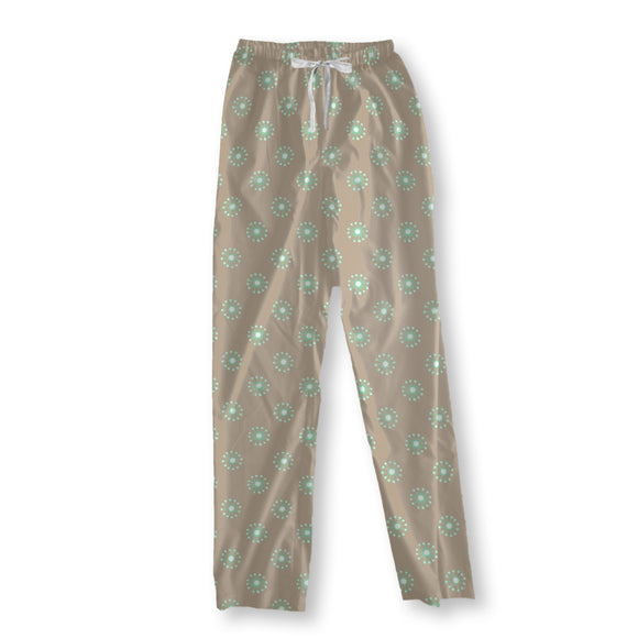 Delicate Meadow Flowers Pajama Pants