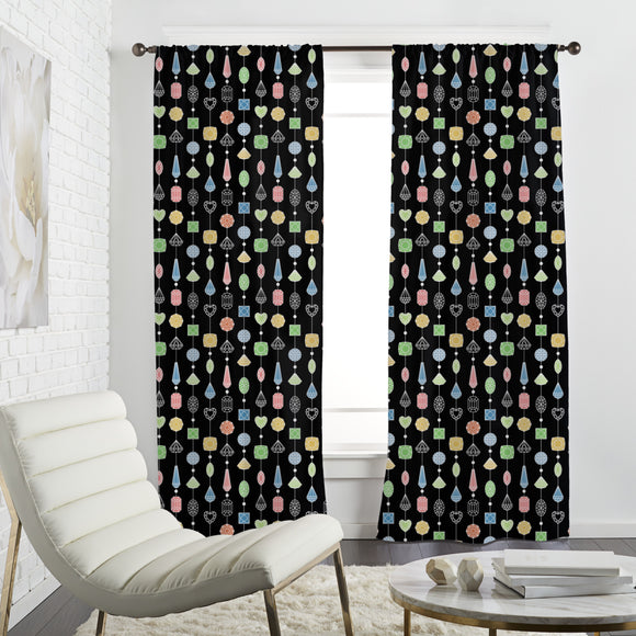 Jewelry Curtain Curtains