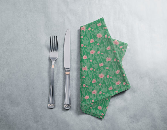 Cactus In Bloom Napkins