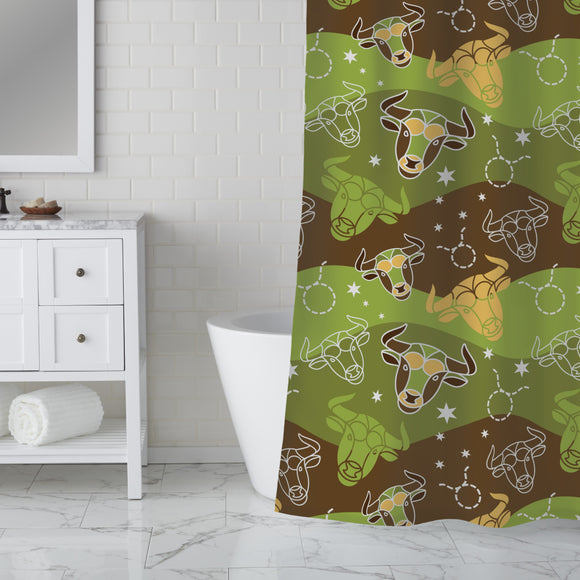 In Taurus Shower Curtain