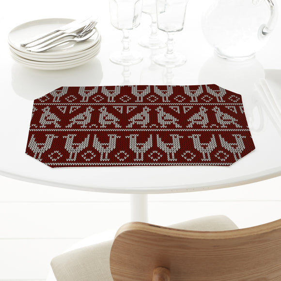 Knitted Birds Placemats