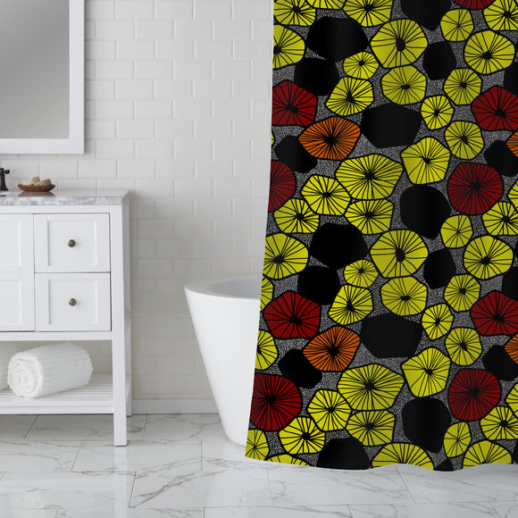 Fruit Slices Mix Shower Curtain
