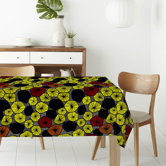 Fruit Slices Mix Rectangle Tablecloths