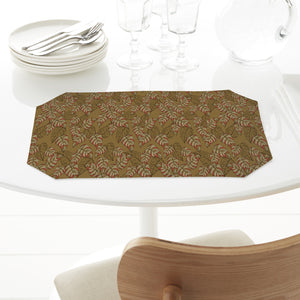 Birch Leaf Beige Rectangle Tablecloths
