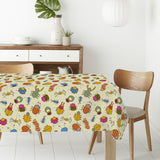 Bug Friends Rectangle Tablecloths