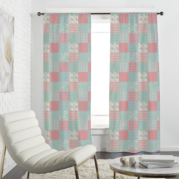 Patchwork Love Curtains