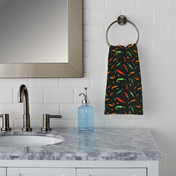 Chili Peppers Hand Towel
