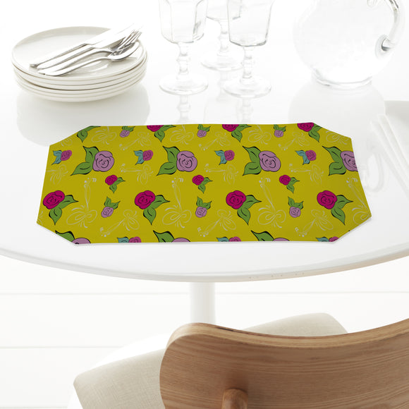 A Rose Is A Rose Placemats