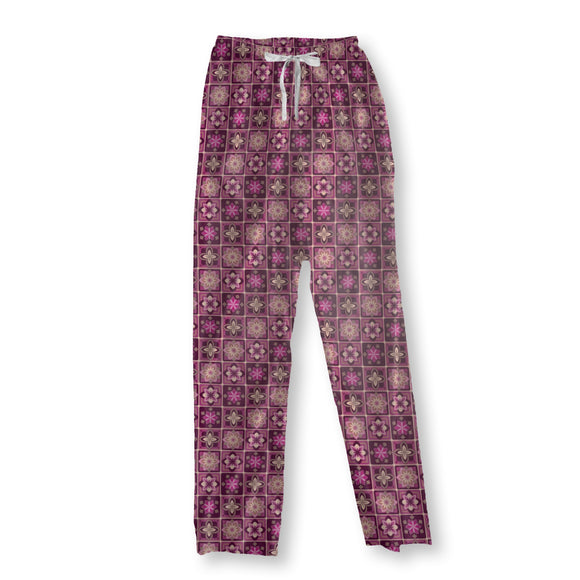 Lotus Tiles Pajama Pants
