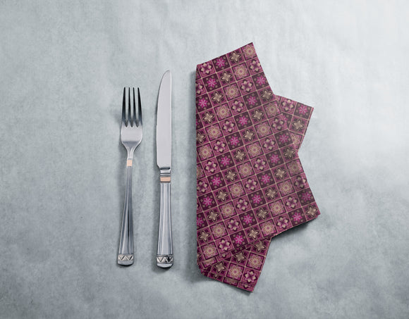 Lotus Tiles Napkins