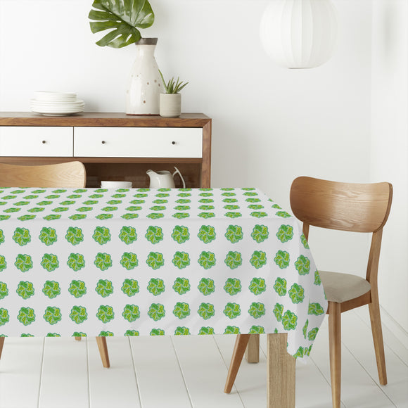 Leaf Swirl Rectangle Tablecloths