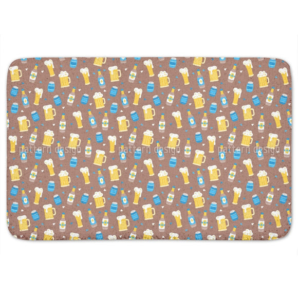 Octoberfest Beer Bathroom Rug