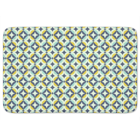 Scandinavian Retro Bathroom Rug