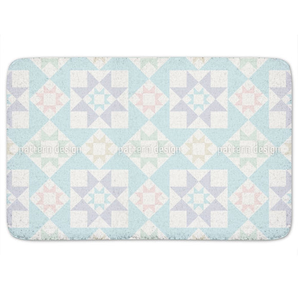 Nordic Stars Bathroom Rug