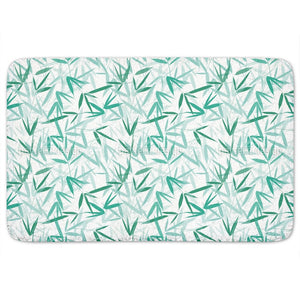 Bamboori Mint Bathroom Rug