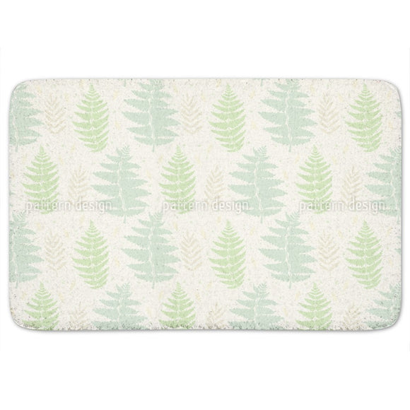 Wild Fern Bathroom Rug