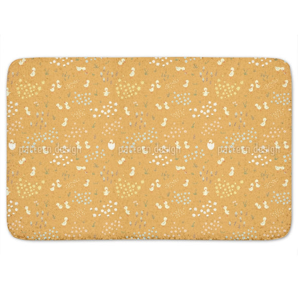 Funny Ducklings Bathroom Rug