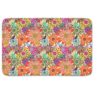 Brazil Floral Bathroom Rug