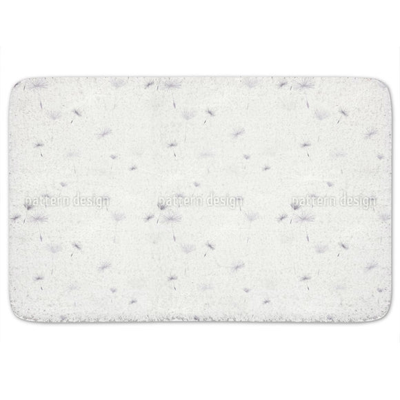 Dandelions Light Bathroom Rug
