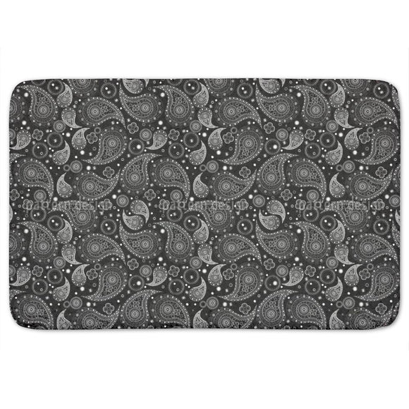 Wonderful Paisley Fantasy Bathroom Rug
