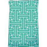 Emerald Labyrinth Bath Towel