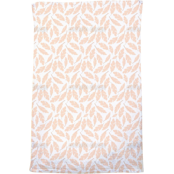 Pillow Feathers Bath Towel