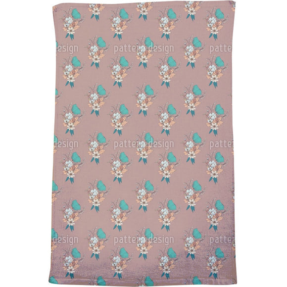 Merry Bouquet Bath Towel